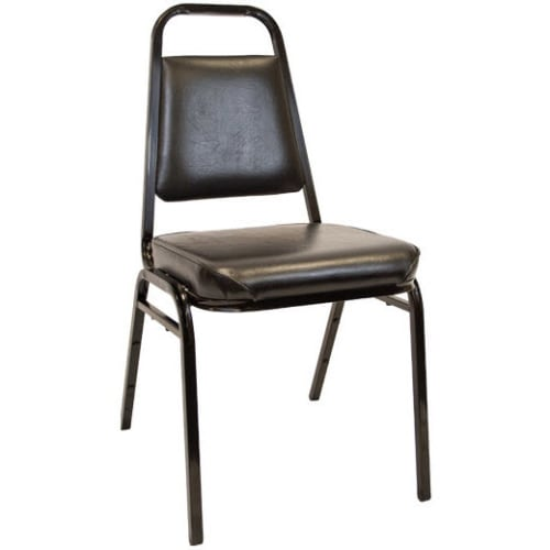 """Commercial Stack Chair With 2.5"""" Thick Cushion"""