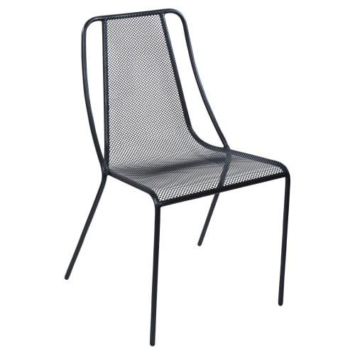 Modern Metal Mesh Patio Chair