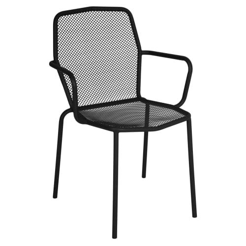 European Style Micro-Mesh Patio Arm Chair