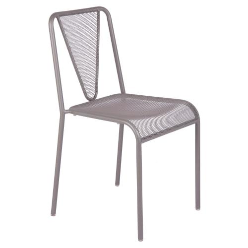 Clarius Outdoor Metal Chair