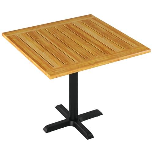 Patio Cedar Table Set
