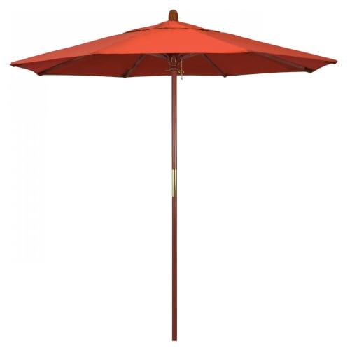 Ventura Wood Commercial Umbrella - 7.5'