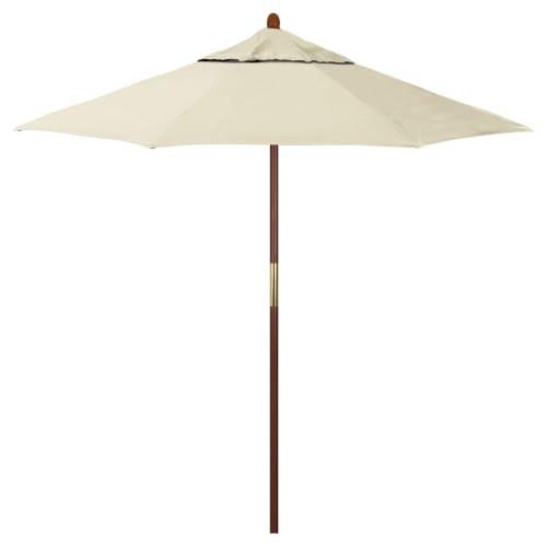 Ventura Wood Commercial Umbrella - 9'