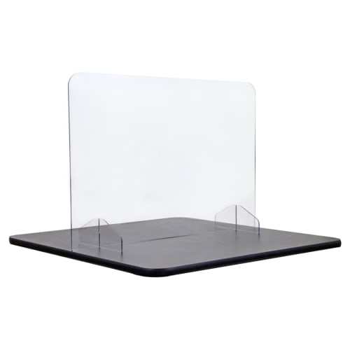 "Counter Top Acrylic Shield - 24"" High"