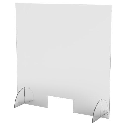 """Counter Top Acrylic Shield - 36"""" High"""