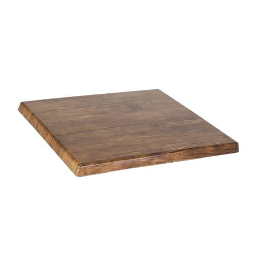 Wood Grain Resin Table Top