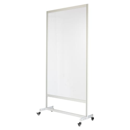Rolling Acrylic Shield with Casters