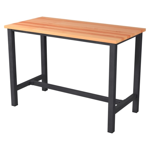 Ottis Bar Height Table Set in Black Finish