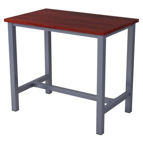 Ottis Bar Height Table Set in Dark Grey Finish