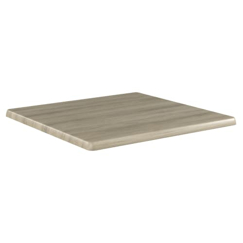 Outdoor Resin Table Top in Distressed Natural Finish