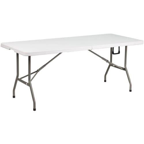 Bi-Fold Granite Plastic Folding Table