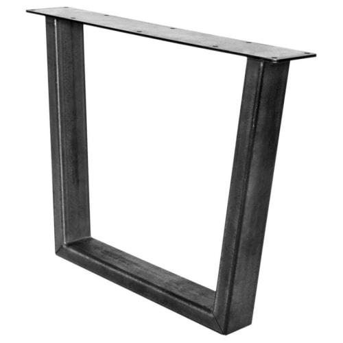 Trapezoid Industrial Table Leg
