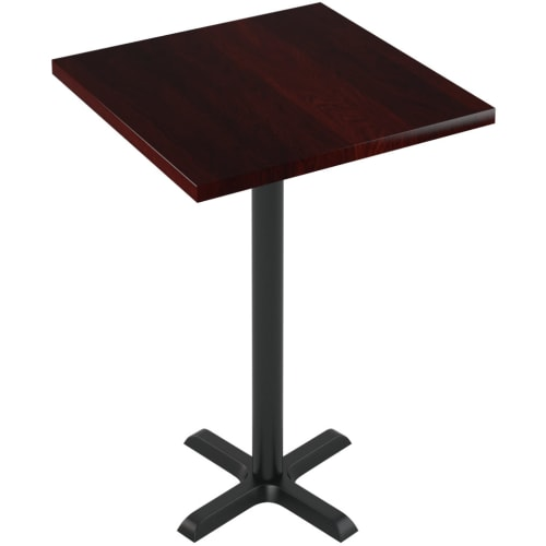 Premium Solid Wood Plank Table - Bar Height