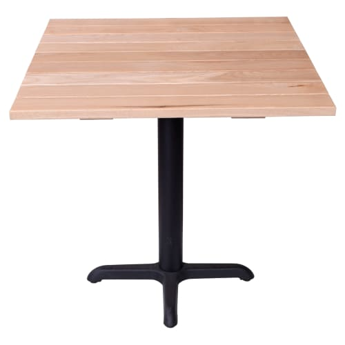 Outdoor Wood Table Set - Table Height