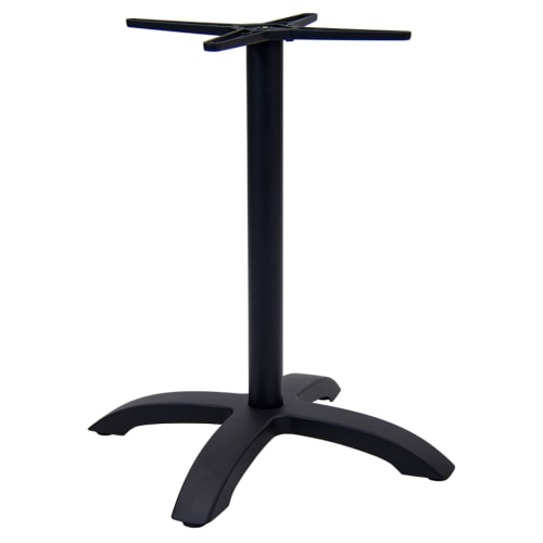 "Black Aluminum Table Base (30"" Table Height)"