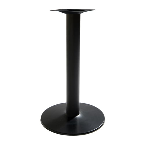 """Round Metal Table Bases - 30"""" Table Height"""