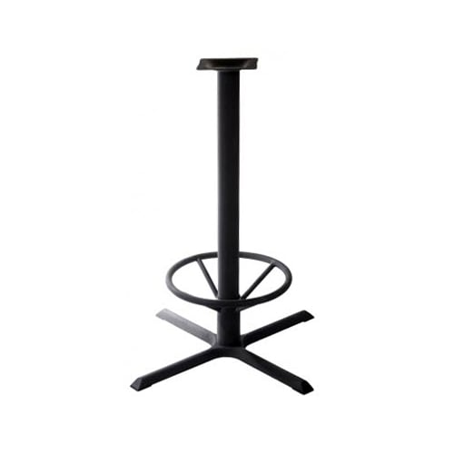 """X Prong Table Base - 42"""" Pub Height"""