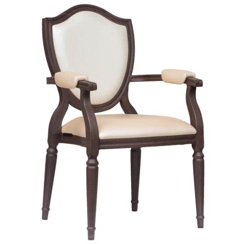 Amadeus Padded Aluminum Arm Chair
