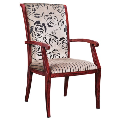 Empire High Back Senior Living Aluminum Arm Chair