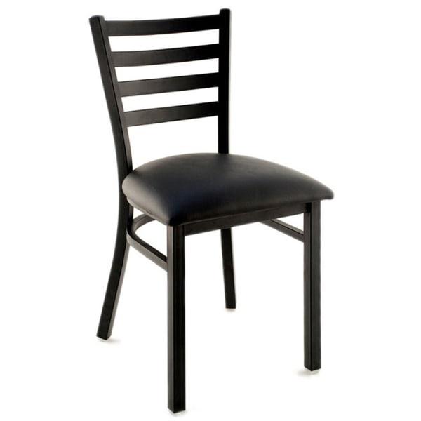 Ladder Back Metal Chair