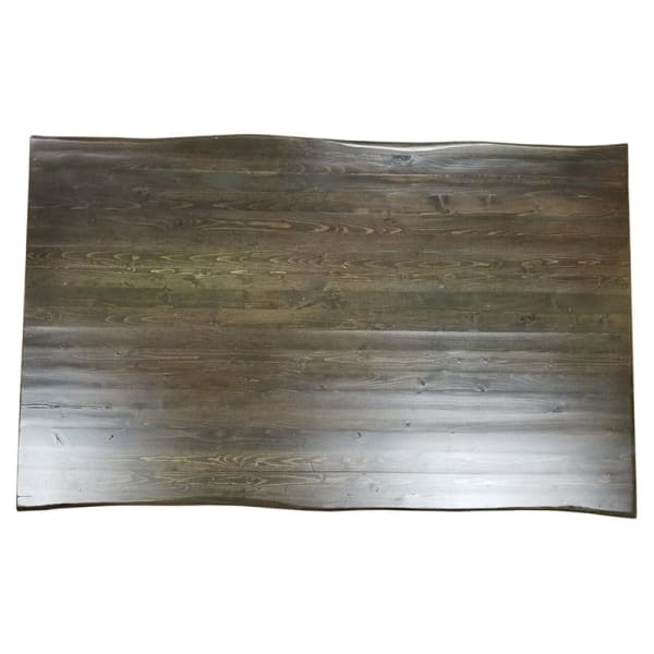 Live edge restaurant wood table top