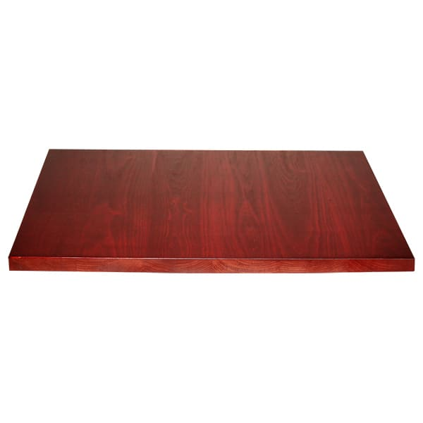 Plank wood table top
