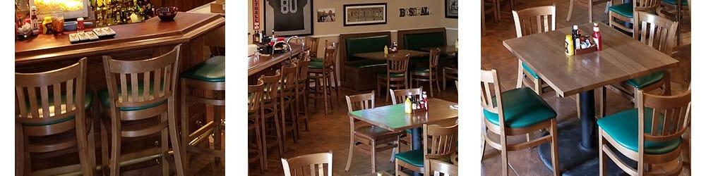 Casual dining restaurants