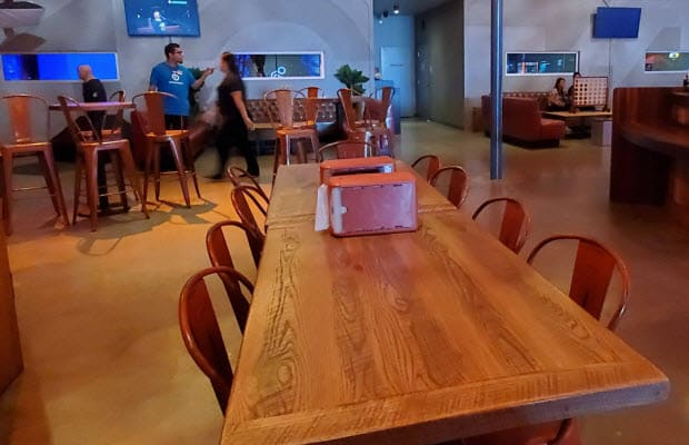 Tolix style restaurant chairs