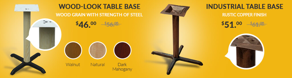 Industrial Table Bases