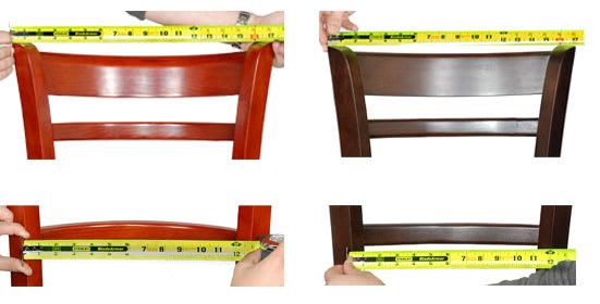Comfort comparison for restauraut furniture
