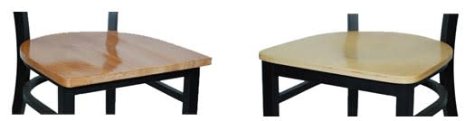 Comfort comparison for restaurant furniture