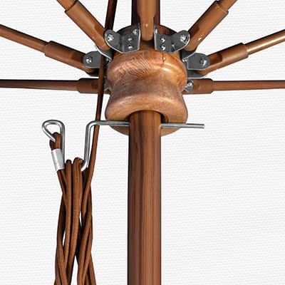 pulley lift mechanism