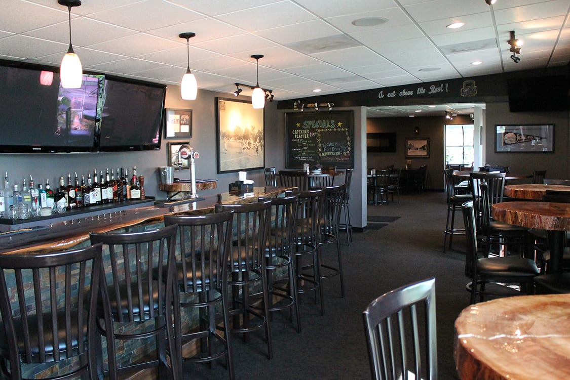 Steakhouse decor and furniture
