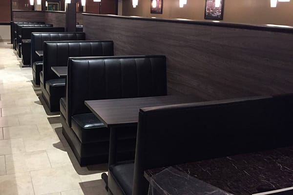 custom restaurant booths