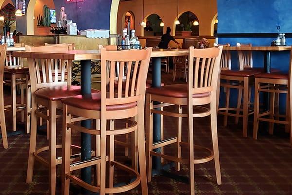 american wood restaurant chairs