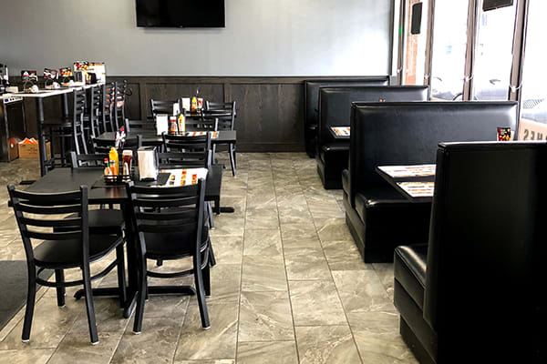 Deli style restaurant furniture