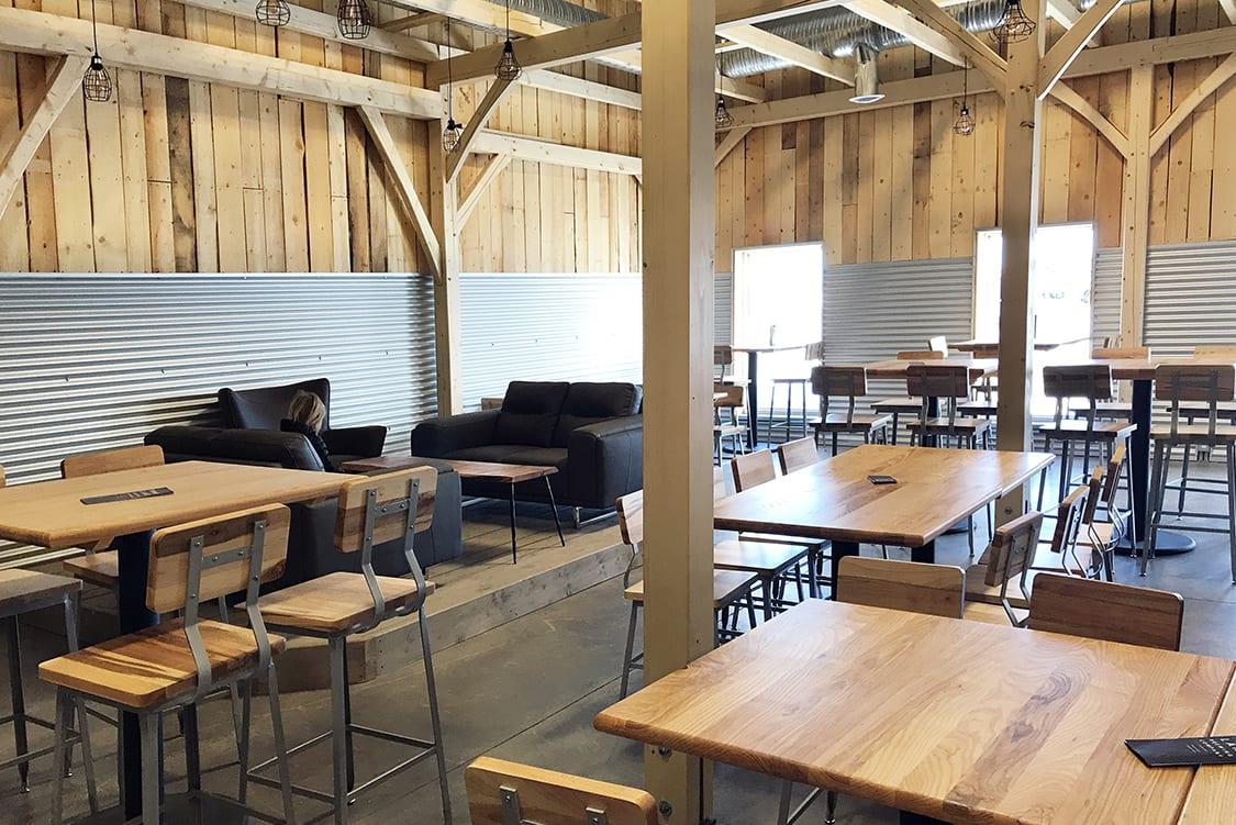 industrial style restaurant furniture