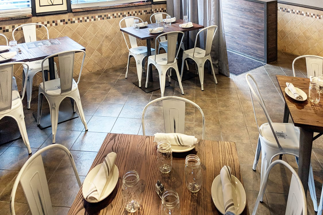 vintage style restaurant interior design
